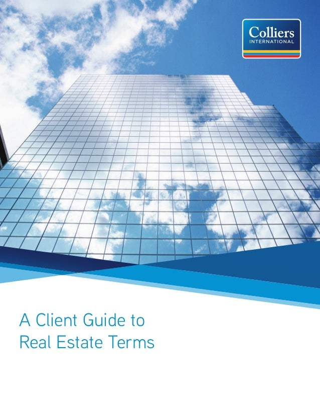 A Client Guide to Real Estate Terms