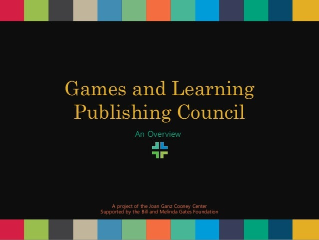 Games and Learning Publishing Council: An Overview