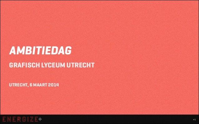 Trend Cocktail - Grafisch Lyceum Utrecht