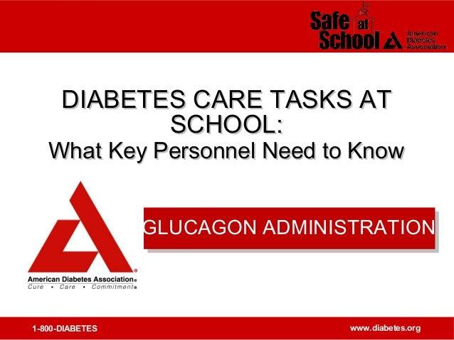 glucagon administration