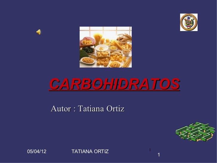 CARBOHIDRATOS                      Historias nuevas (Highway Blues).wma           Autor : Tatiana Ortiz                   ...