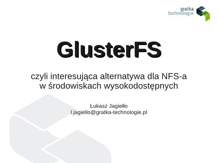 GlusterFS