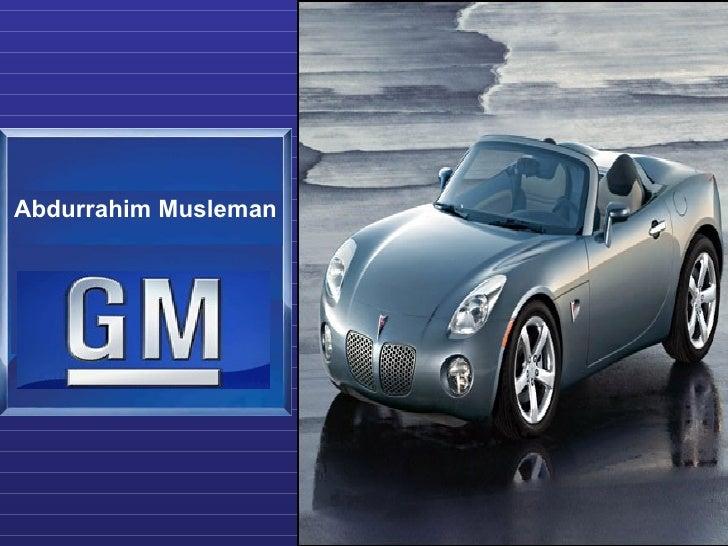 Gm  Presentation3