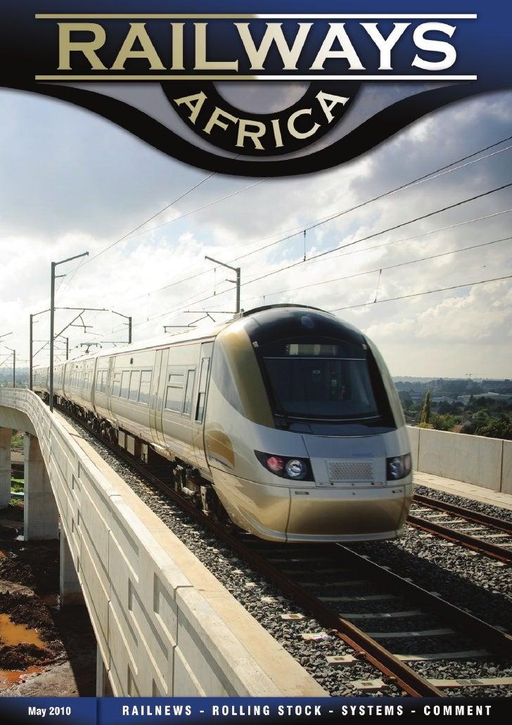 Railways Africa    PUBLISHERS                        CONTRIBUTORS                                                         ...