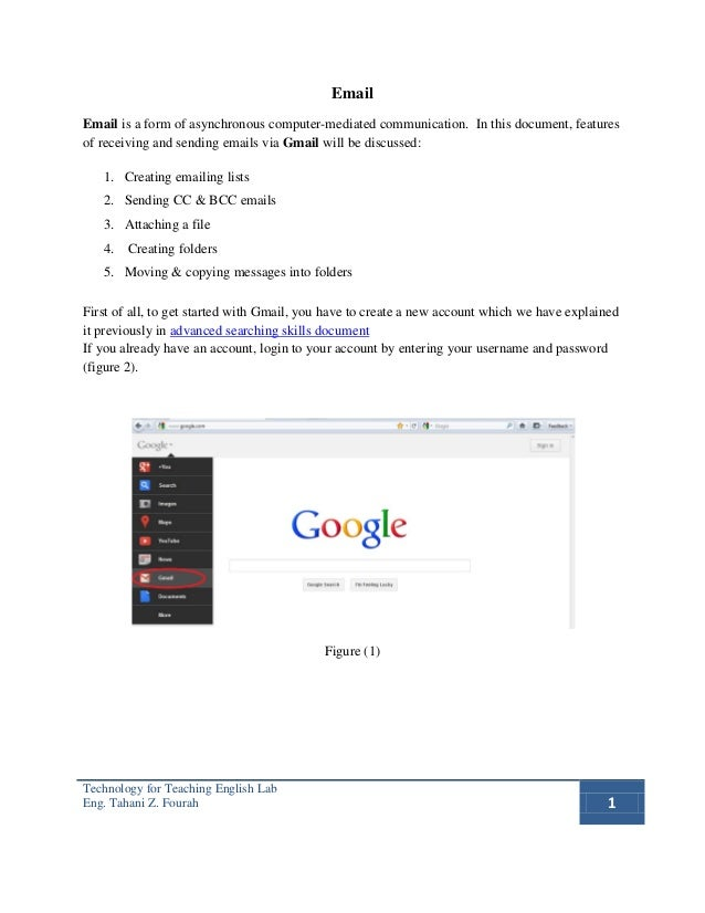 EmailEmail is a form of asynchronous computer-mediated communication. In this document, featuresof receiving and sending e...