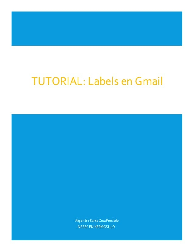 AIESEC Academy | GMail Labels Tutorials