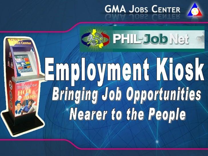 Gma jobs center