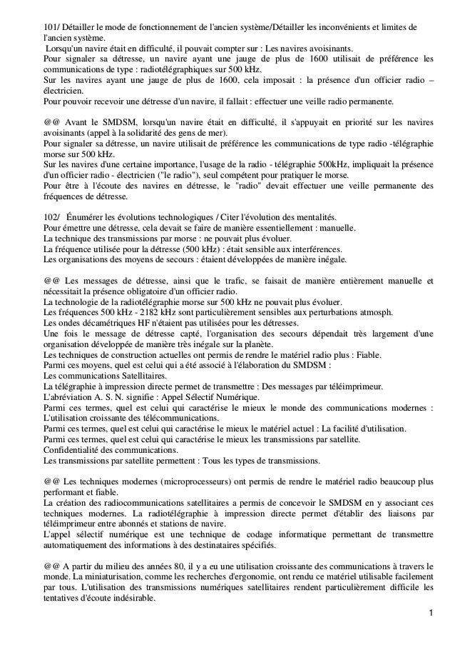 1 110011// DDééttaaiilllleerr llee mmooddee ddee ffoonnccttiioonnnneemmeenntt ddee ll''aanncciieenn ssyyssttèèmmee//DDéétt...