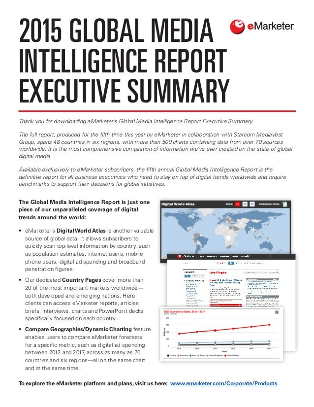 global media intelligence report As well as retail and wholesale technology, media and telecommunications healthcare and pharmaceuticals travel economist intelligence unit report cards 2013/2014 kroll global fraud report introduction following a decrease in 2012, fraud is on.