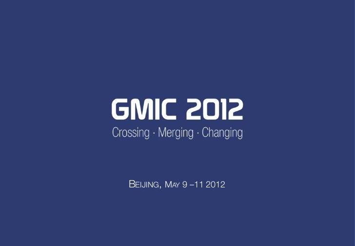 GMIC 2012 General Brochure
