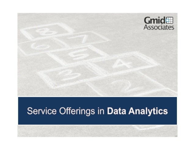 Gmid associates  services offerings in analytics