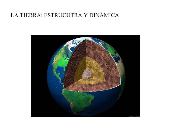 La Tierra: estructura y dinámica