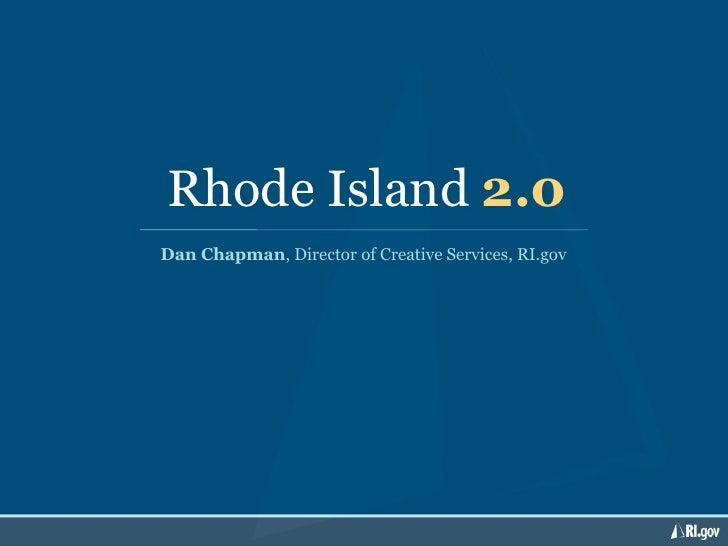 Rhode Island 2.0