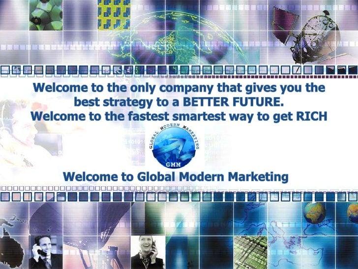 Global Modern Marketing Opportunity Presentation