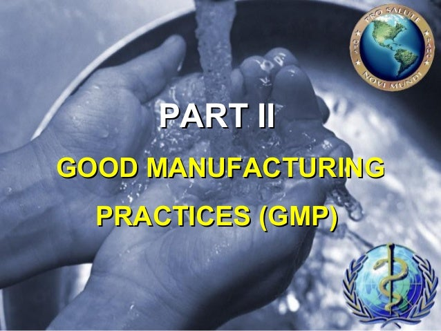 Good Manufacturing Practices Training by International Food Safety Consultancy