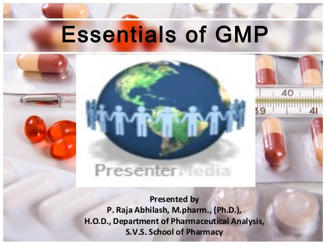 Presented by P. Raja Abhilash, M.pharm., (Ph.D.), H.O.D., Department of Pharmaceutical Analysis, S.V.S. School of Pharmacy...