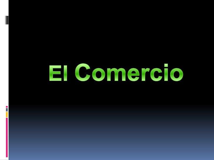 El Comercio<br />