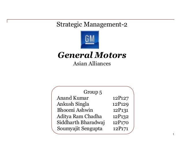 General Motors_Strategic Management