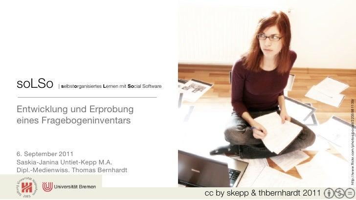 soLSo       | selbstorganisiertes Lernen mit Social Software                                                              ...