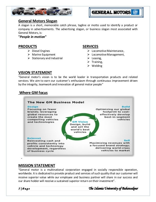 strategic management report on toyota View notes - slp_1_for_strategic_management from ece 4452 at georgia institute of technology running head: report on toyota strategic positioning 1 topic: report.
