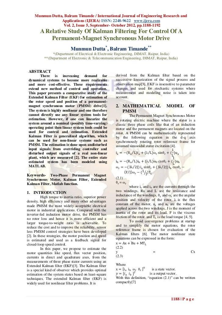 Munmun Dutta, Balram Timande / International Journal of Engineering Research and                 Applications (IJERA) ISSN...