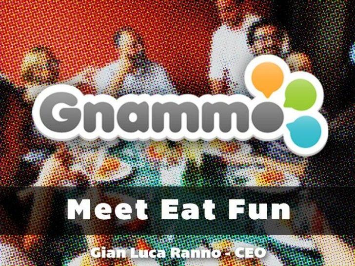 Gnammo @ Social Media Week Torino 2012