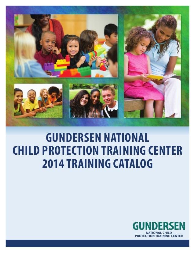 Gundersen National Child Protection Training Center Booklet