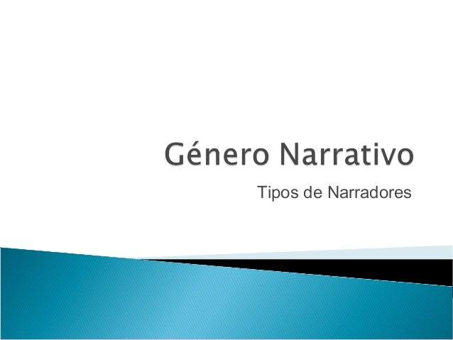 Género narrativo: Ejemplos de elementos
