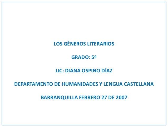 Géneros literarios[1]