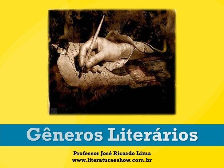 Gêneros_Literários_2013