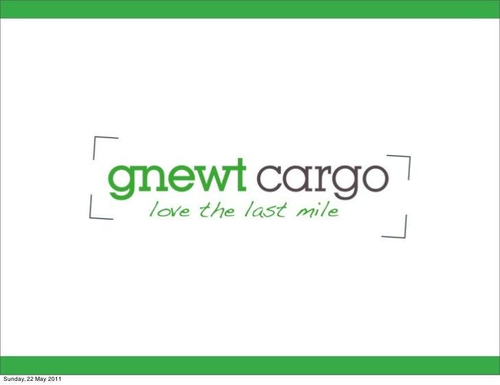 gnewt cargo Final Presentation