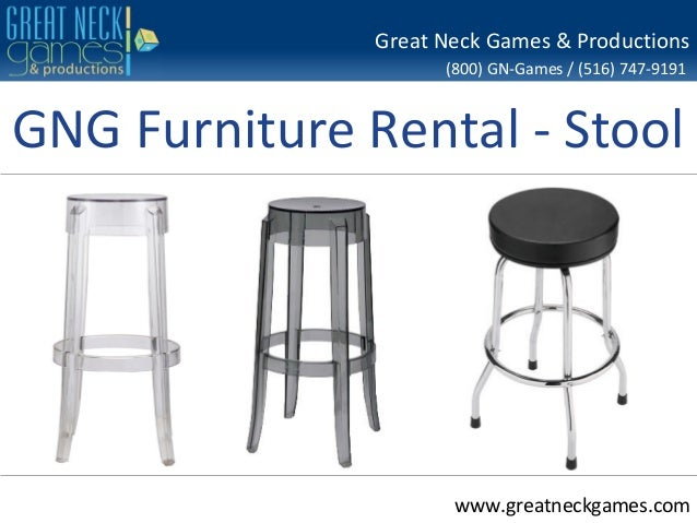 Gng furniture rental stool for Rent one furniture rental
