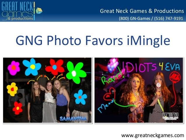 GNG Photo Favors iMingle