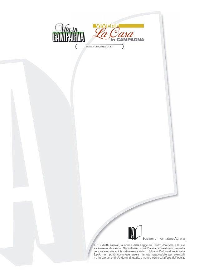www.vitaincampagna.it                                               Edizioni L'Informatore Agrario      Tutti i diritti ri...
