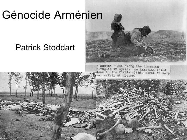 Génocide Arménien Patrick Stoddart