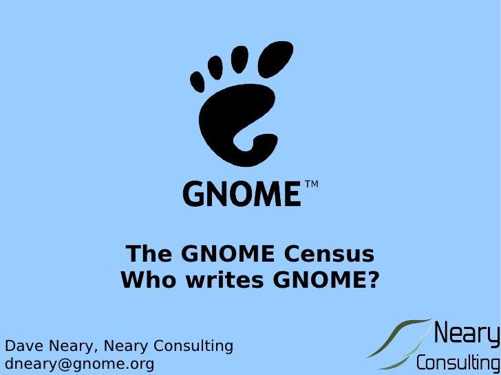 Gnome census
