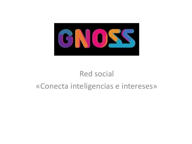Red social «Conecta inteligencias e intereses»