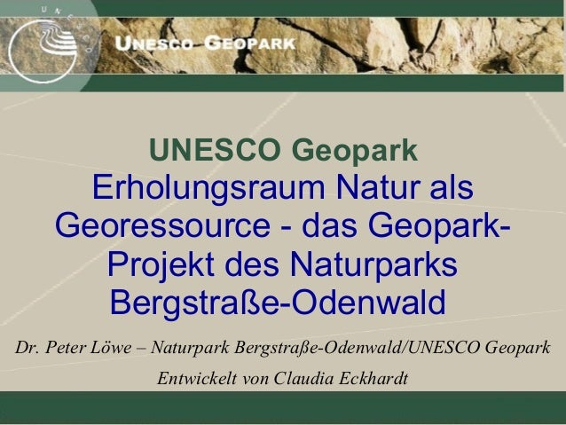 Geopark Bergstraße-Odenwald