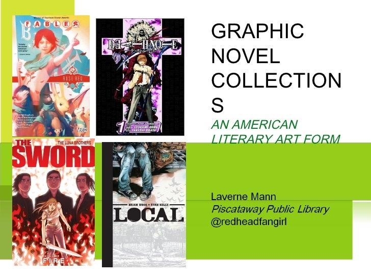 Graphic Novel Readers Advisory