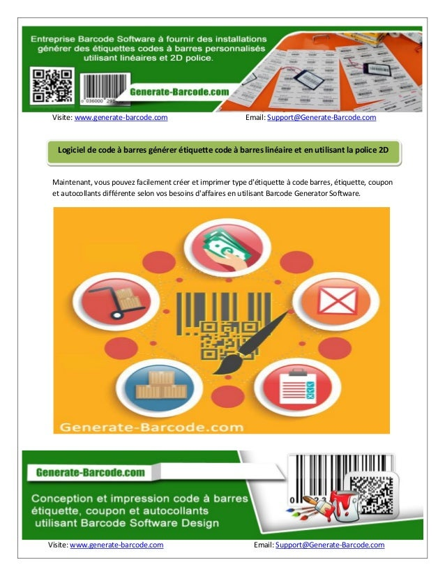 Visite: www.generate-barcode.com Email: Support@Generate-Barcode.com Visite: www.generate-barcode.com Email: Support@Gener...