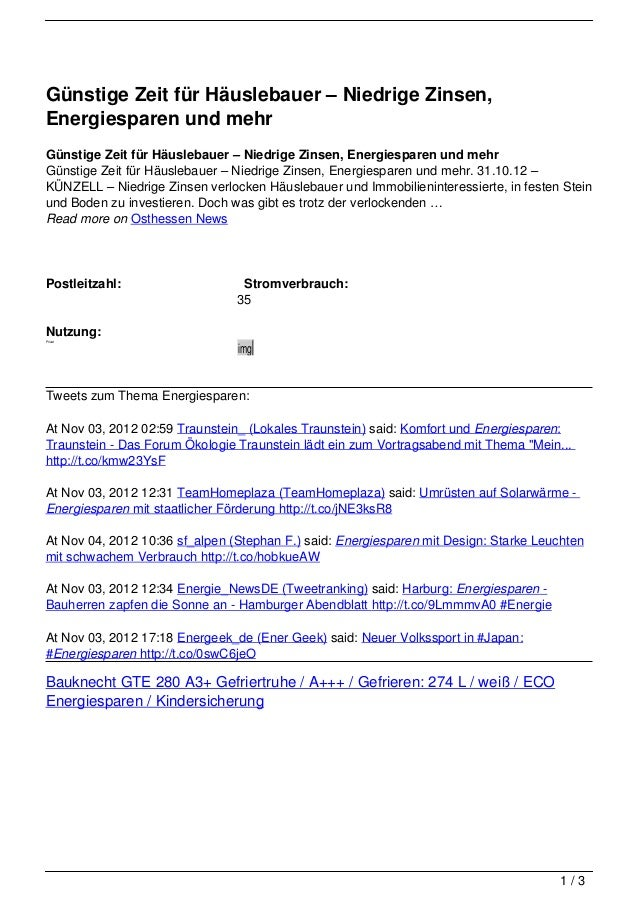 Günstige Zeit für Häuslebauer – Niedrige Zinsen,Energiesparen und mehrGünstige Zeit für Häuslebauer – Niedrige Zinsen, Ene...