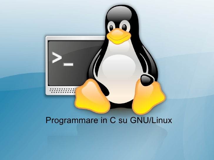 GNU Linux Programming introduction