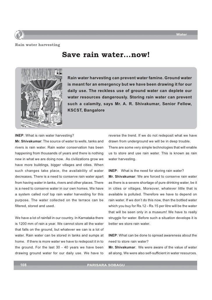Water   Rain water harvesting                                 Save rain water…now!                                     Rai...