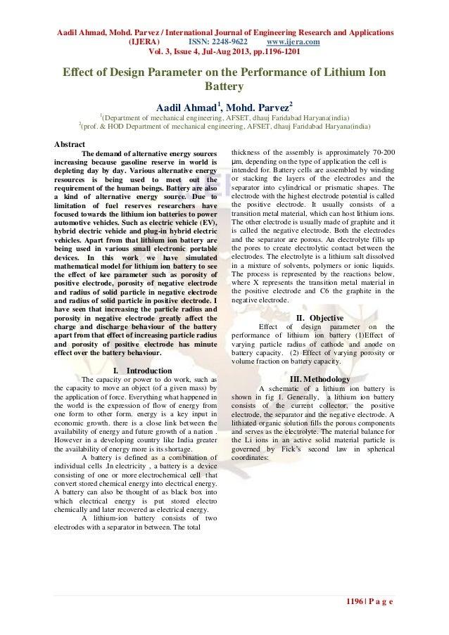 Aadil Ahmad, Mohd. Parvez / International Journal of Engineering Research and Applications (IJERA) ISSN: 2248-9622 www.ije...