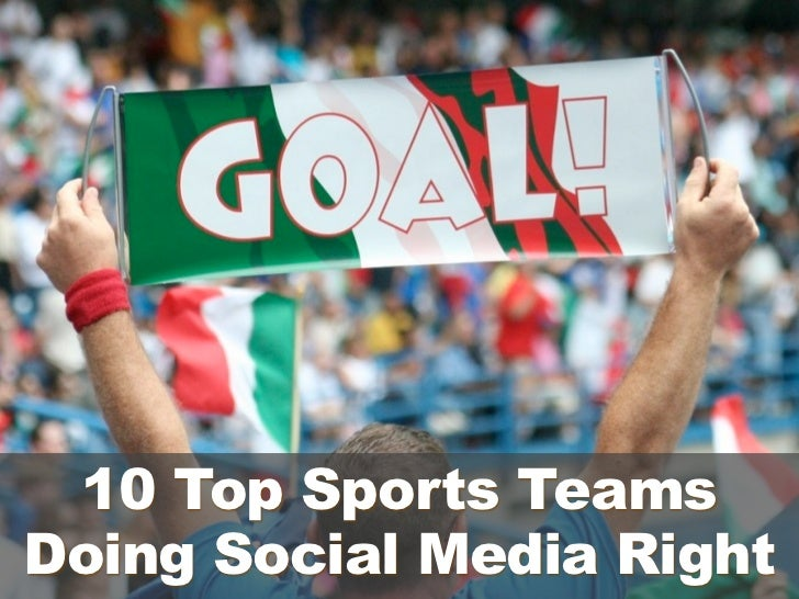 Goal  - 10 top sports teams doing social media right