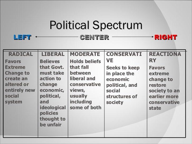 where nigerians fall political spectrum
