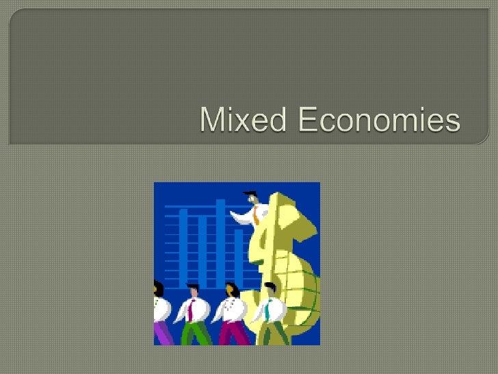 Goal 8 mixed economies
