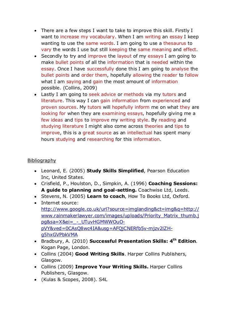 Free Essays On Setting Goals