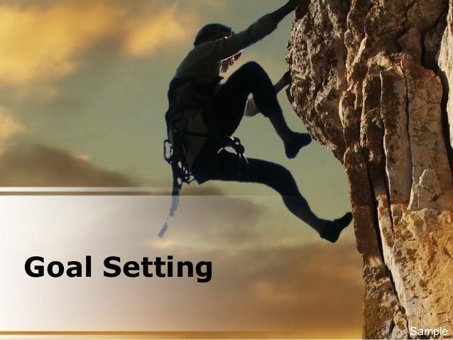 Goal Setting Sample