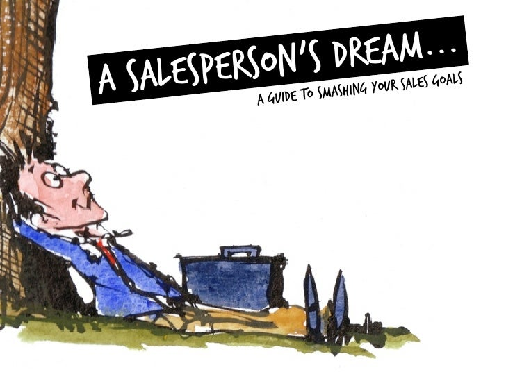 Are You Dreaming About Your Sales Success?